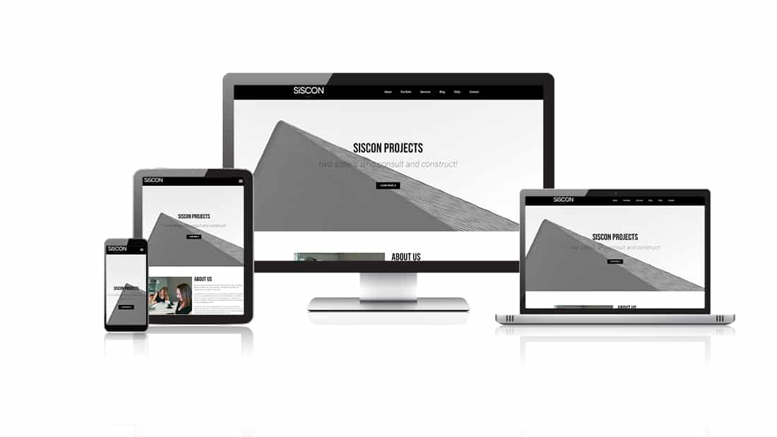 Siscon Projects Website Design
