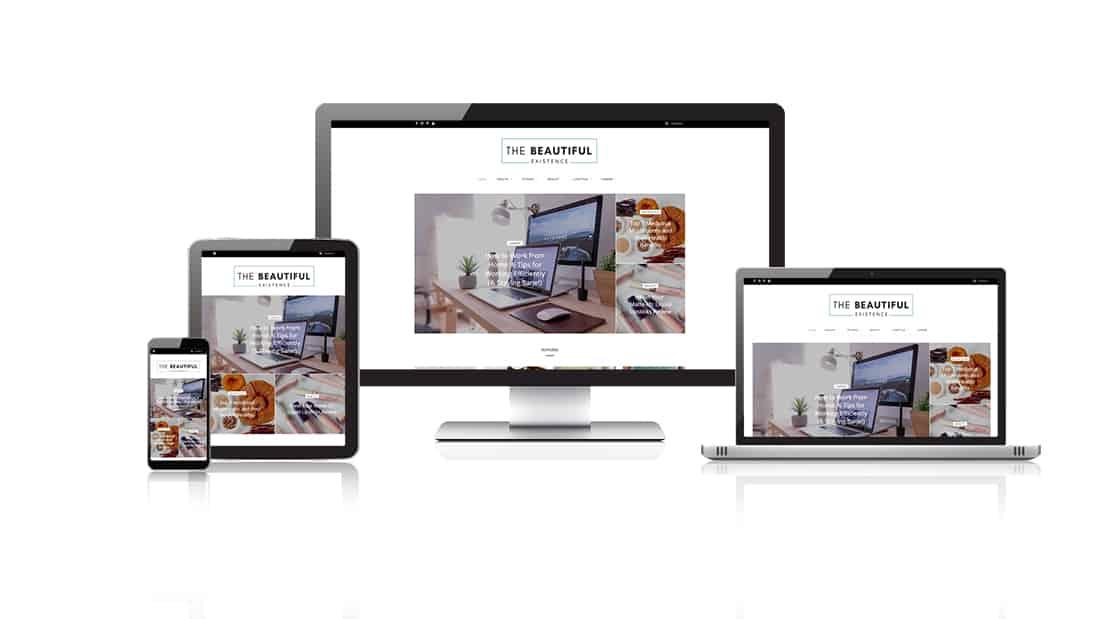 The Beautiful Existence Custom Website Design Melbourne